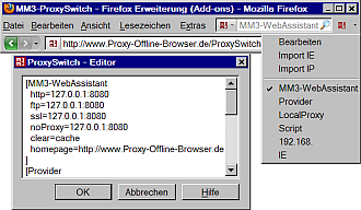 MM3-ProxySwitch - Firefox Erweiterung (Add-ons)